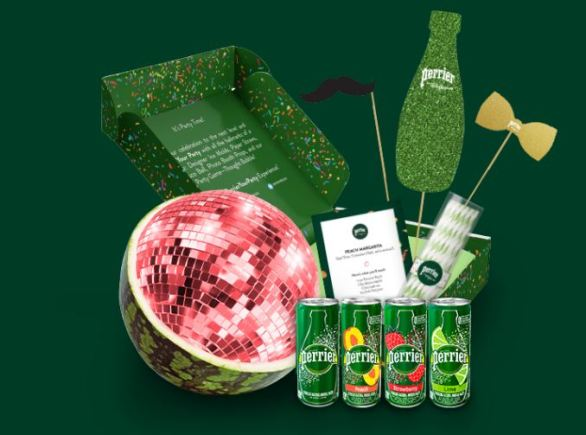 Perrier Your Party Sweepstakes