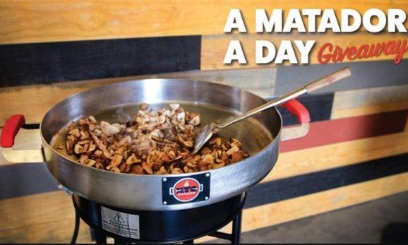 REC TEC GRILLS A Matador A Day Giveaway