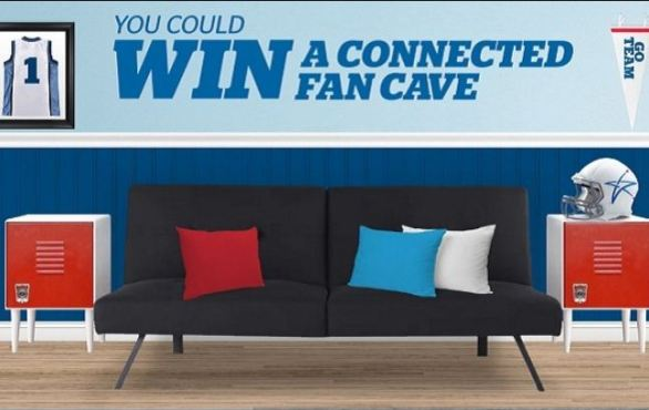 U.S. Cellular Connected Fan Cave Sweepstakes