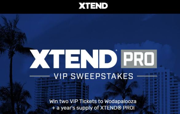 Xtend Pro VIP Sweepstakes
