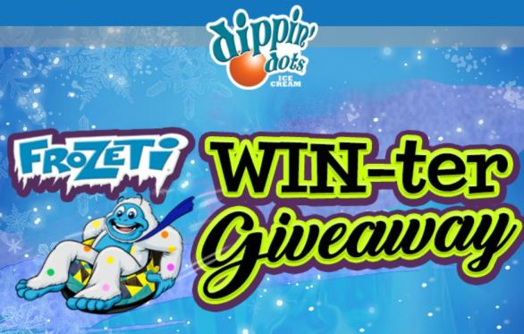 Dippin Dots Frozeti Winter Giveaway