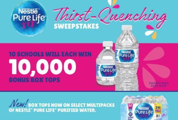 Boxtops4education-Thirst-Sweepstakes