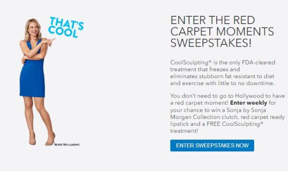 Coolsculpting-Red-Carpet-Moments-Sweepstakes