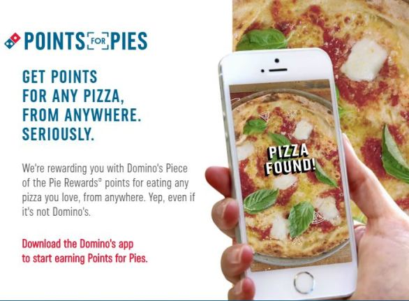Domino's Points For Pies Giveaway