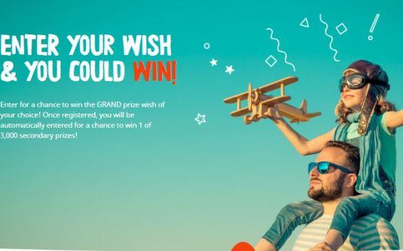 Kinder-Make-A-Wish-Contest