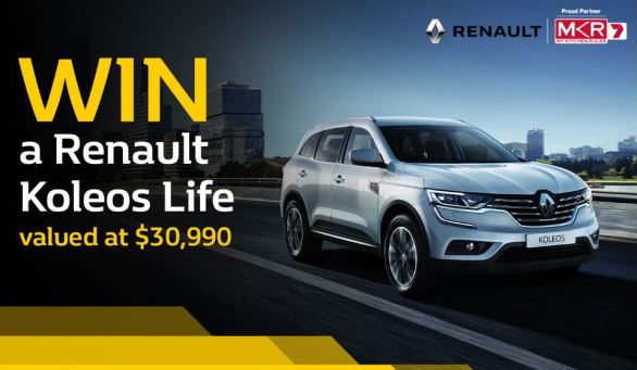 My-Kitchen-Rules-Renault-Koleos-Life-Competition