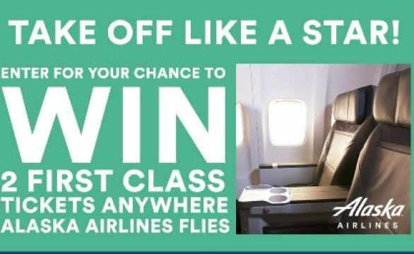 Alaska Airlines TV Commercial OTRC Sweepstakes
