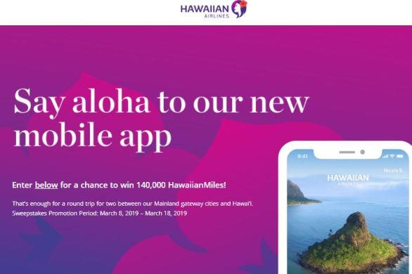 Hawaiianairlines-Mobile-App-Sweepstakes