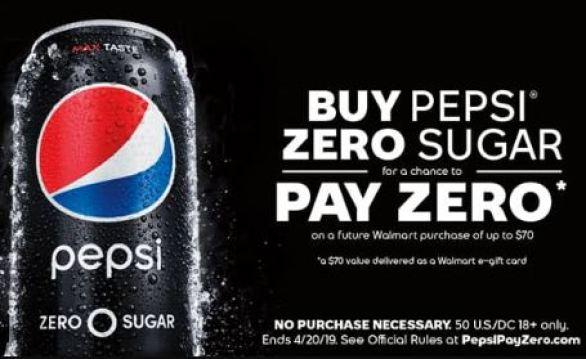 PepsiPayZero-Sweepstakes