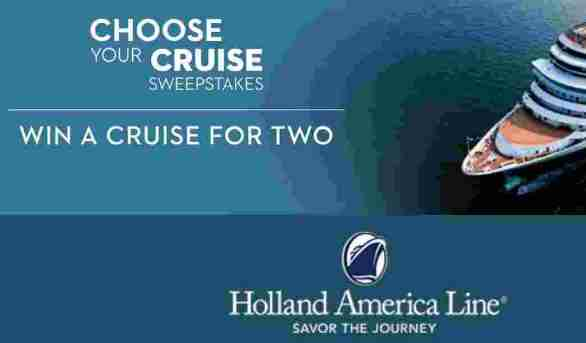 Holland-America-7-Day-Choose-Your-Cruise-Sweepstakes