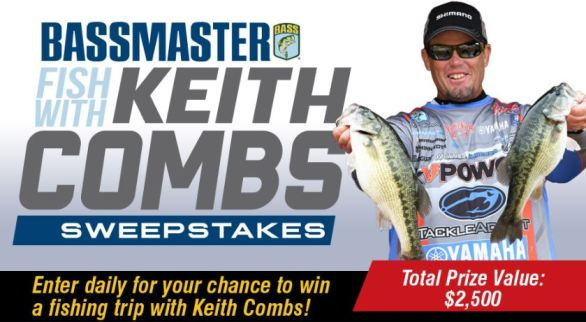 Bassmaster-Fish-With-Keith-Combs-Sweepstakes