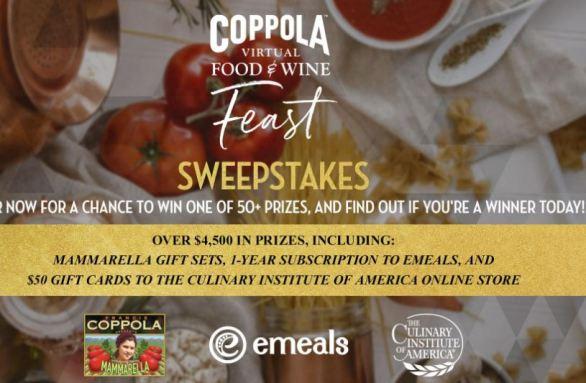 Coppolafeast-Sweepstakes