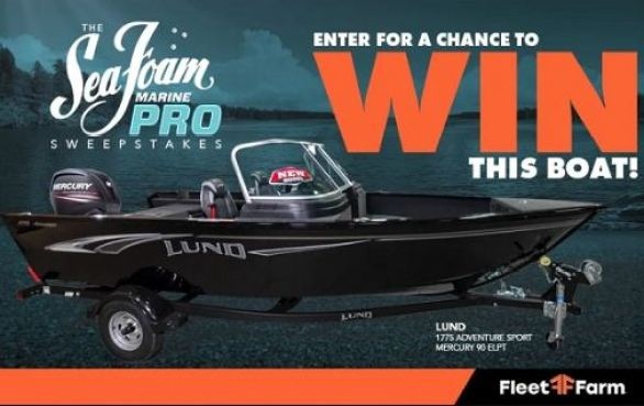 Seafoamsales-Boat-Sweepstakes