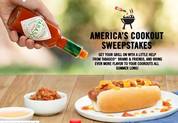 TABASCO-Americas-Cookout-Sweepstakes