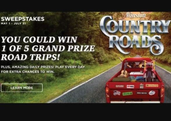 Winstoncigarettes-Country-Roads-Sweepstakes