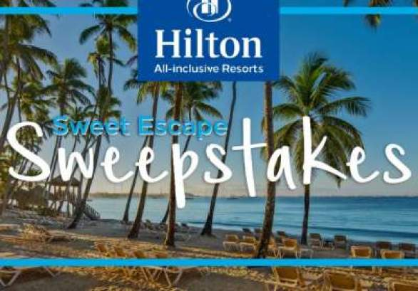 Hilton-All-Inclusive-Resorts-Sweet-Escape-Sweepstakes