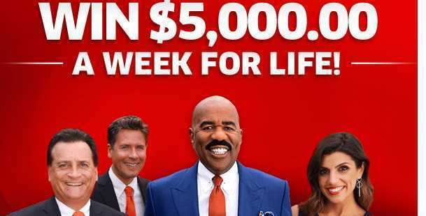 PCH Win $5,000 A Week For Life Sweepstakes - Win $1,000,000