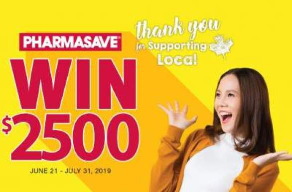 Pharmasave-Sweepstakes