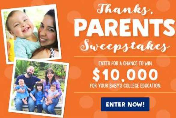Stonyfield-Thanks-Parents-Sweepstakes