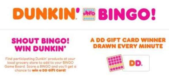 DunkinBingo-Sweepstakes
