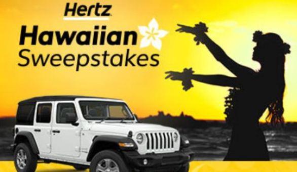 Hertz-Hawaii-Sweepstakes