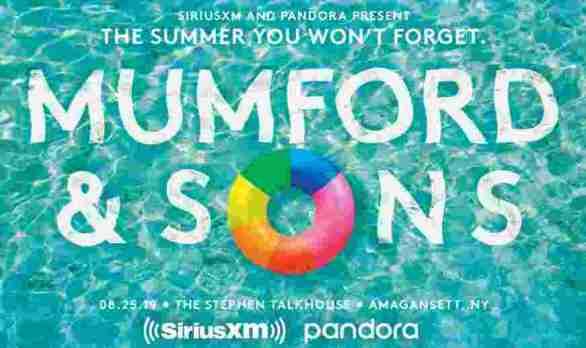 SiriusXM-Mumford-Sons-Sweepstakes