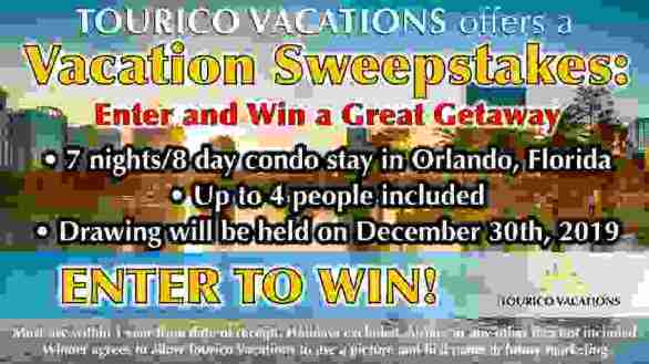 Touricovacations-Sweepstakes