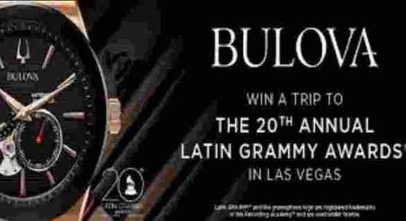 Zales-Bulova-Latin-Grammy-Sweepstakes