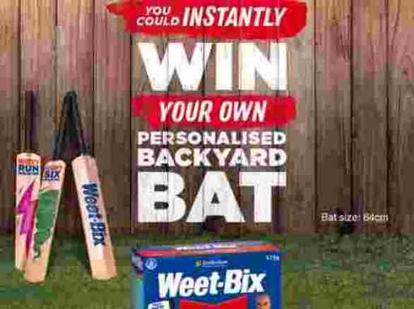 Weetbixbat-Competition