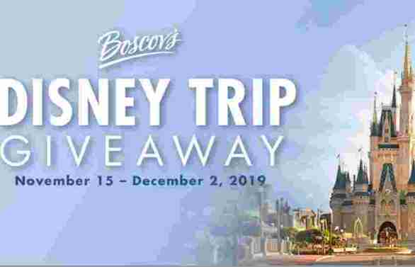 Boscovs-Disney-Sweepstakes