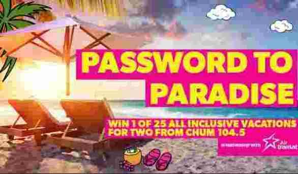 CHUM-Password-Paradise-Contest