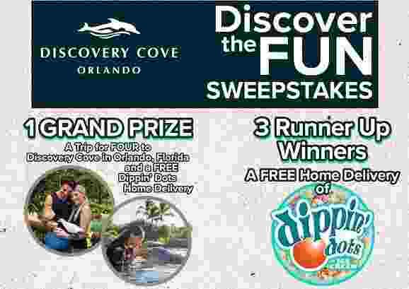 DippinDots-Discovery-Cove-Sweepstakes