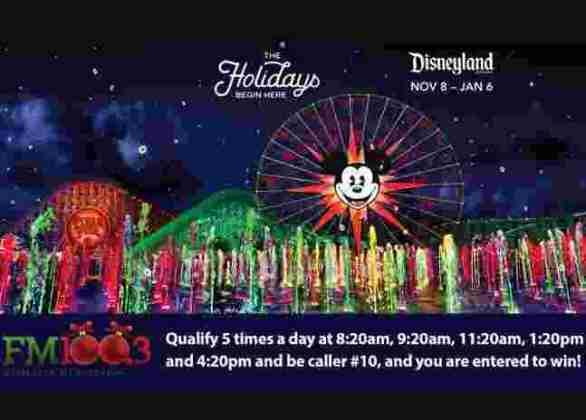 FM100-Disneyland-Contest