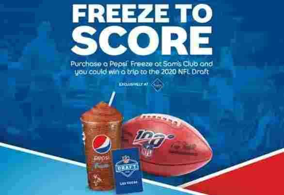 Pepsifreeze-Sweepstakes
