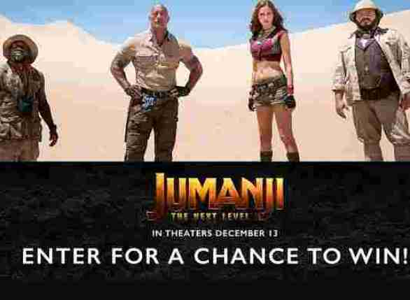 SonyRewards-Jumanji-Sweepstakes