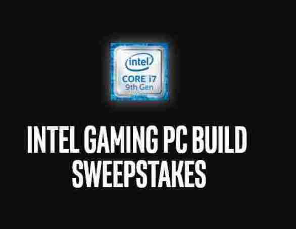 Intel-Gaming-PC-Build-Sweepstakes
