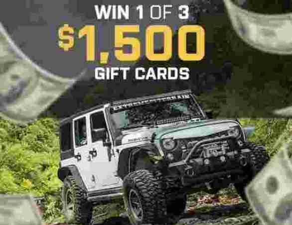 Extremeterrain-Refund-Your-Build-Sweepstakes