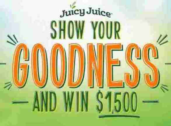 JuicyJuice-Show-Your-Goodness-Contest