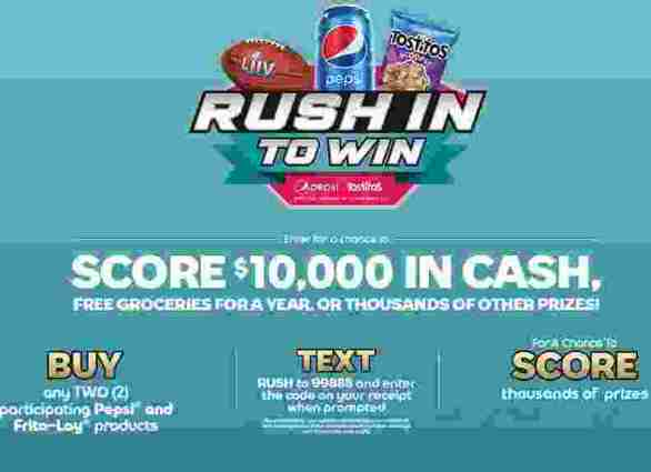 Rushintowin-Sweepstakes