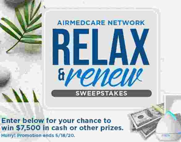 AirMedCare-Relax-Sweepstakes