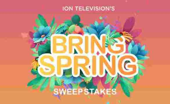 IONTelevision-Bring-Spring-Sweepstakes