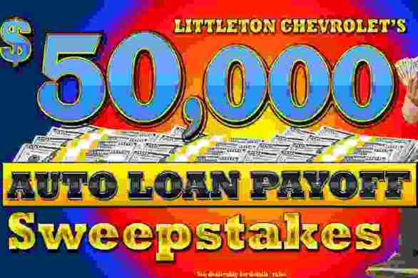 LittletonChevrolet-Auto-Loan-Payoff-Sweepstakes
