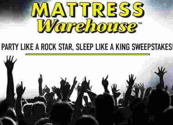 Mattress-Warehouse-Party-Like-Rockstar-Sweepstakes