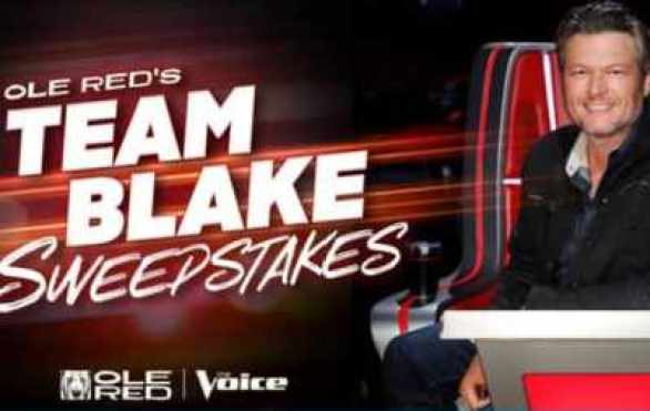 Ole-Red-Voice-Team-Blake-Sweepstakes