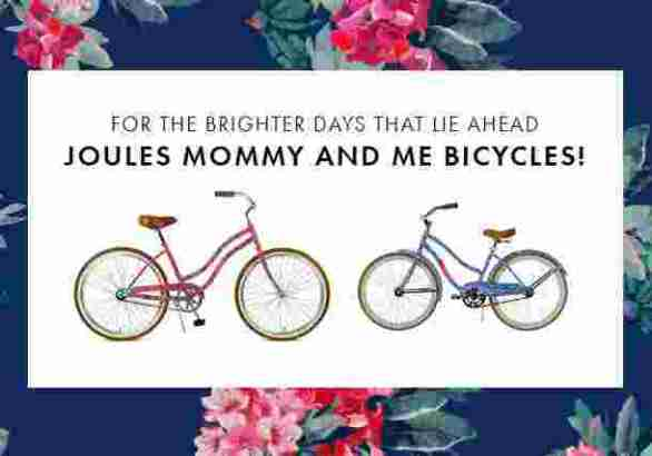 Joules-Mommy-Me-Bicycles-Sweepstakes