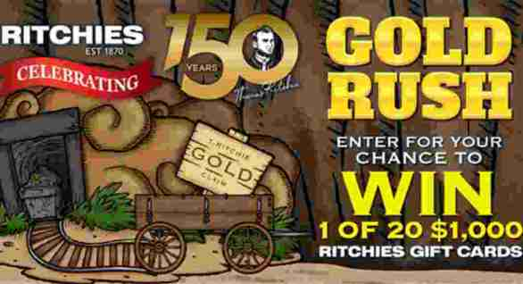 Ritchies-Gold-Rush-Competition