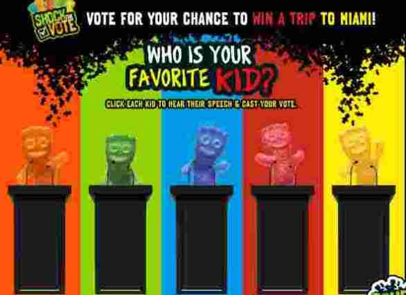 Sourpatchkidsvote-Sweepstakes