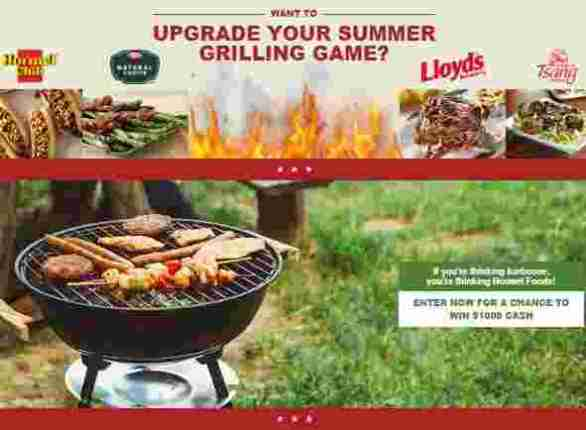 hormel-upgrade-the-grill-Sweepstakes