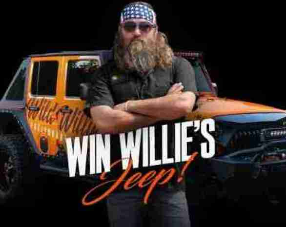 FuelYourBeard-Willie-Jeep-Giveaway