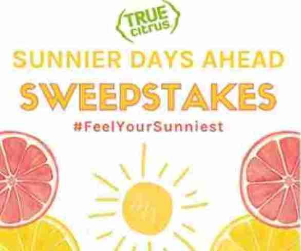 Truelemon-Sunnier-Days-Sweepstakes